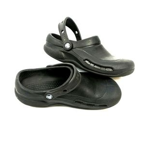 Crocs clogs size 8, black